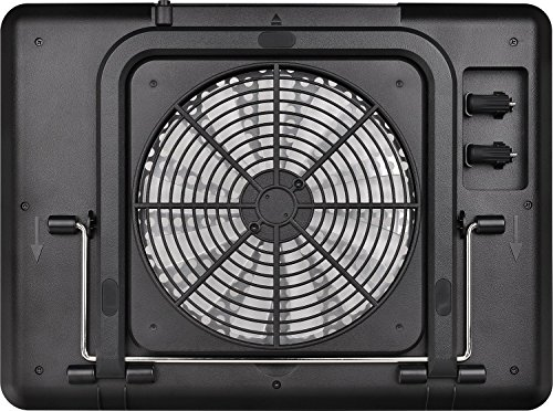 """Thermaltake Massive A21 Aluminum Panel Single 200mm Fan 10""""-17"""" Laptop Notebook Cooling Pad CL-N011-PL20BL-A by Thermaltake (Image #3)"""