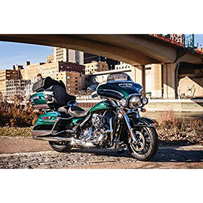 Kuryakyn 8674 Air Management Motorcycle Accessory: Mid-Frame Air/Heat Deflector Accents for 2009-19 Harley-Davidson Motorcycles, Chrome, 1 Pair: Automotive