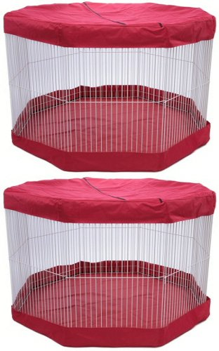 Marshall Deluxe Play Pen Mat/Cover - 11 panel (Marshall Pet Small Animal Pen)