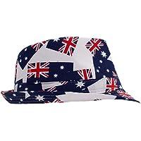 Australiana Adults Aussie Fabric Fedora