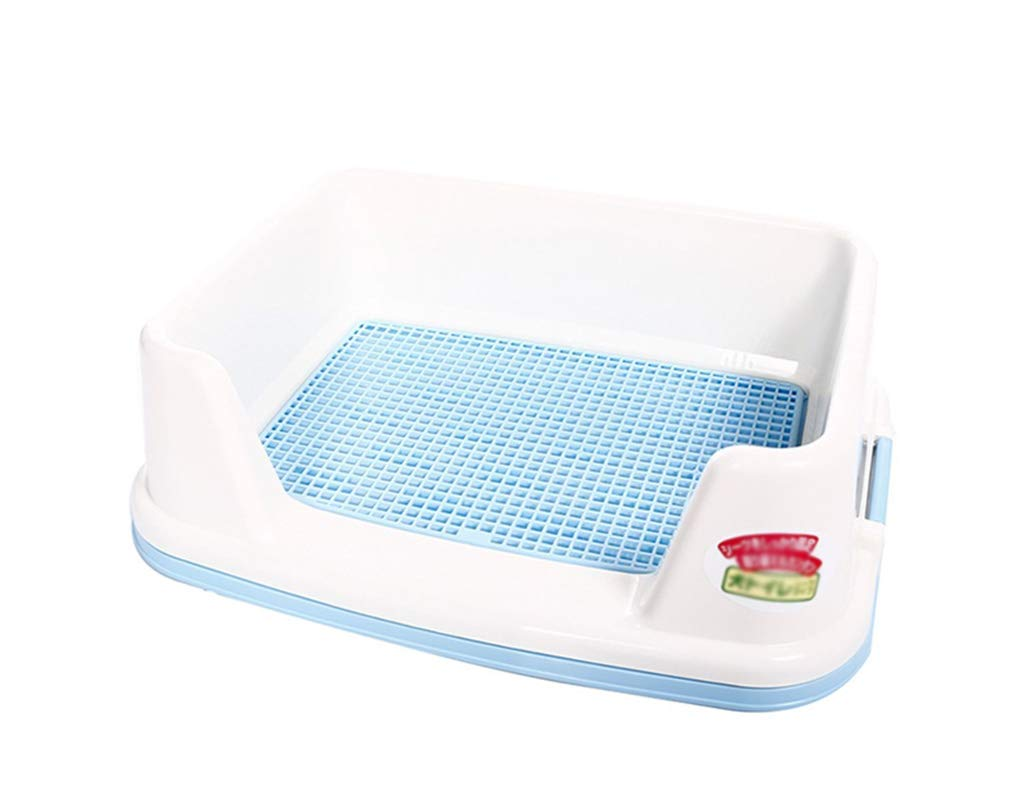 A 51cmX39cmX15.4cm A 51cmX39cmX15.4cm Xiao Mi Guo Ji Pet Toilet Pet Supplies Dog Toilet Comfortable and convenient large dog size toilet Pet potty (color   A, Size   51cmX39cmX15.4cm)