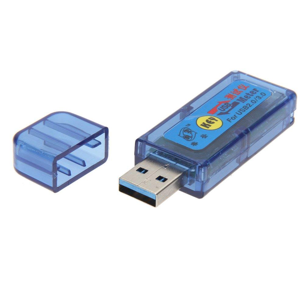 Alloet Home Mini USB Multimeter Detector Voltage Current Power Capacity Tester 4 Bit