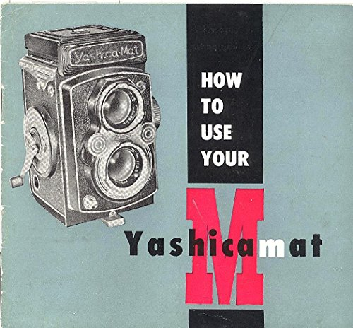 Yashica-Mat M Original Instruction Manual