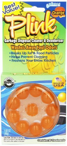 Compac Plink Garbage Disposal Cleaner and Deodorizer, Orange, 20 Count, 1.62 Ounce (Pack of 3) by Compac (Image #1)