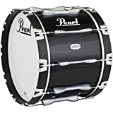 Pearl 22 x 14 in. Championship Maple Marching Bass Drum Midnight Black