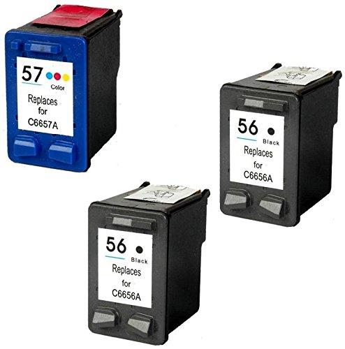 Prestige Cartridge 5 Compatible 56 57 Cartuchos de tinta para HP ...