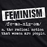 Crazy Dog T-Shirts Womens Feminist Definition