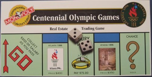 - 1996 CENTENNIAL OLYMPIC GAMES EDITION(NUMBERED) MONOPOLY