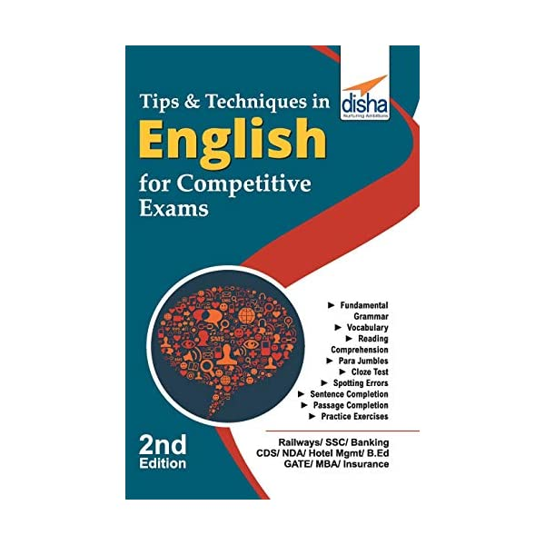 Tips & Techniques in English for Competitive Exams Paperback – 18 April 2018 1