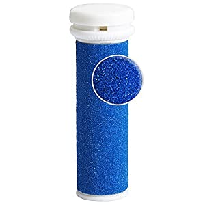 Foot Solutions Super Coarse Emjoi Micro-Pedi Refills Rollers Compatible with Emjoi Micro-Pedi Callus Remover (5 PACK-Blue)