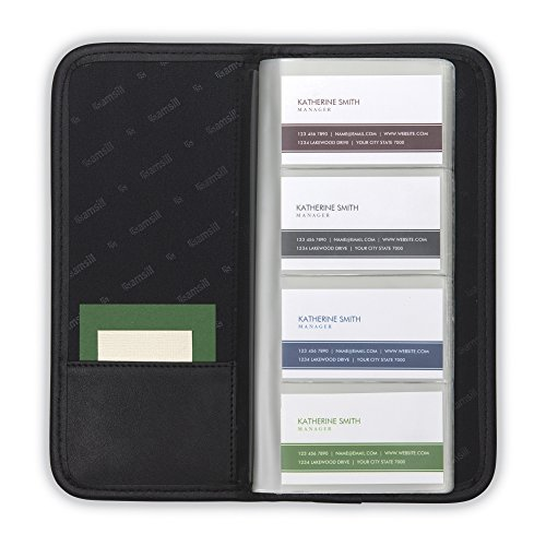 Best Samsill Professional Business Card Organizer With Padded Cover
