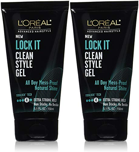 (L'Oreal Paris Lock It Extreme Style Gel, 5.1 Ounce (2 Pack))