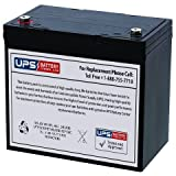12V 55Ah IT - UPSBatteryCenter battery for Werker WKA12-55C/FR