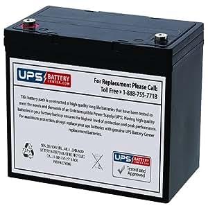 12v 55ah it upsbatterycenter battery for. Black Bedroom Furniture Sets. Home Design Ideas