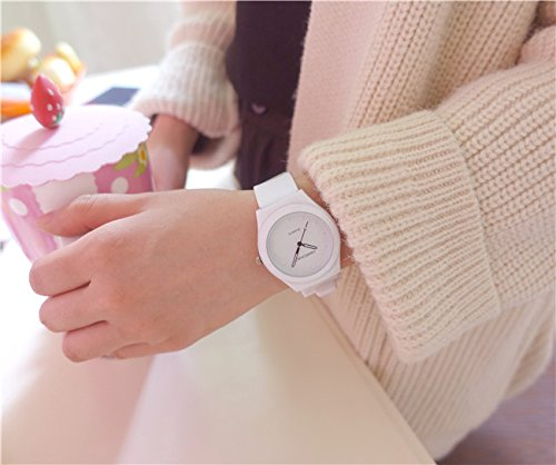 Generic Watch Korean middle school girls girls soft sister minimalist trend of Japanese literary small fresh and lovely leisure jelly table