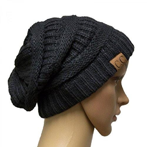 Charcoal Grey_Winter Hat Cap Fashion Cap- outdoor skiing (US - Puerto Rico Ferrari