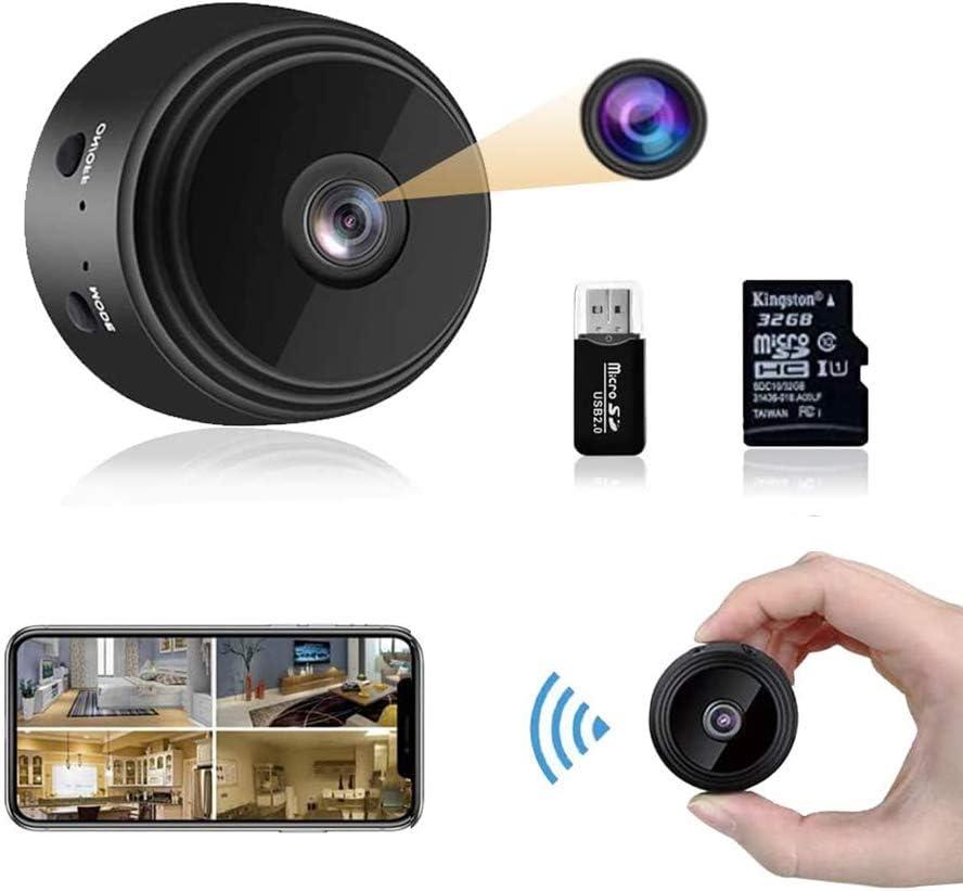tragbare Mini-Kamera wasserdicht Recorder Full HD Bewegungserkennung Nachtsicht Camcorder EKUPUZ HD Mini-Kamera 1080P WiFi-Kamera blau