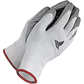 Garden Gloves for Women and Men - 2 Pairs per Pack - Super Grippy w/Special Protective coating against cuts for Gardening - Fishing - Auto and Work activities S,M,L Sizes