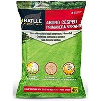 Abonos - Fertilizante Cesped Primavera-Verano Saco 4kg - Batlle
