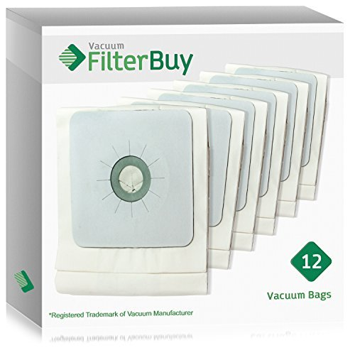 12 - FilterBuy Nutone 391 Central Compatible Vacuum Bags. Designed by FilterBuy to fit Nutone Central Vacuum Cleaners.