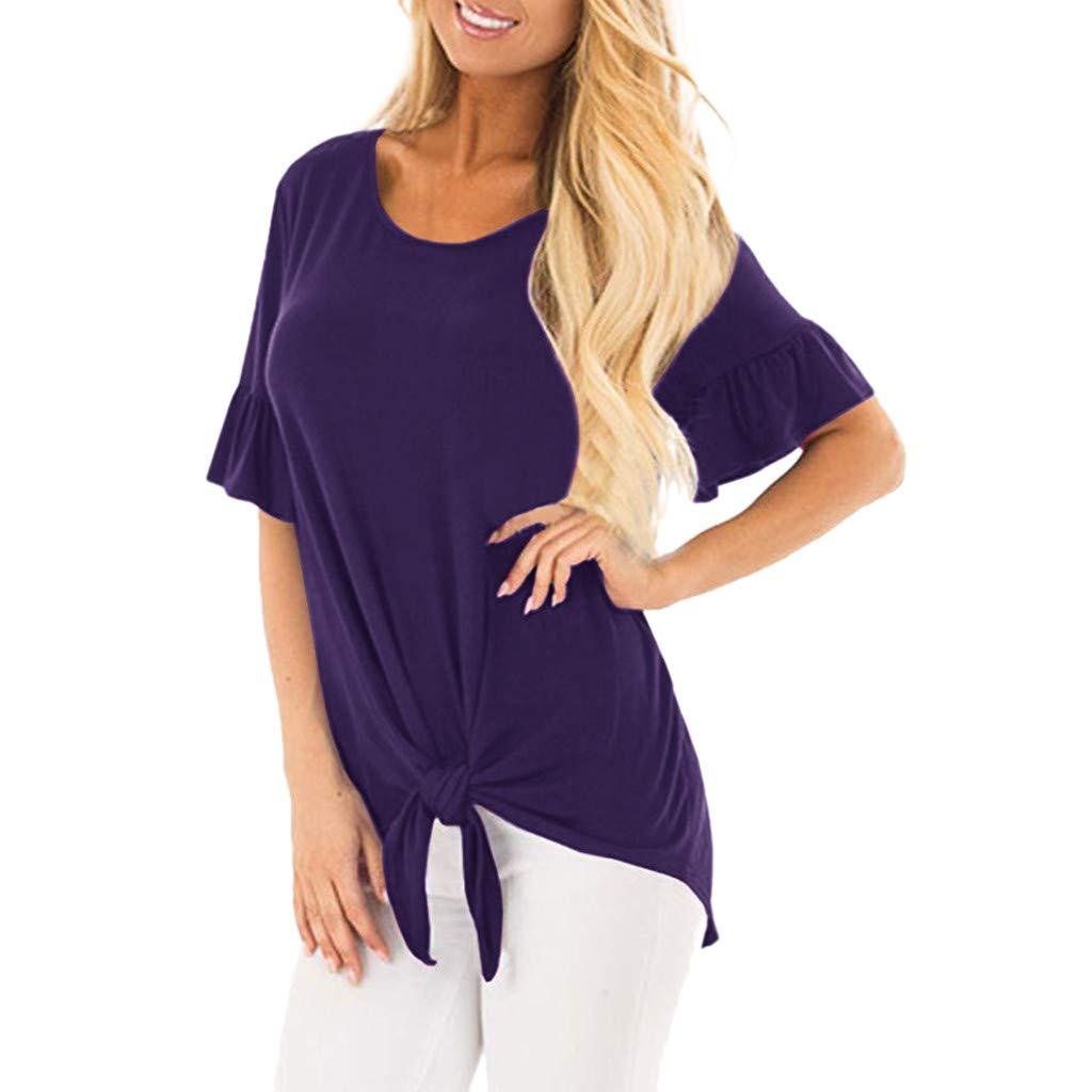 AOJIAN Shirts for Women,t Shirts for Men Pack,Shirts for Teen Girls,Shirts for Women, Shirts for Teens,Shirts for Men Long Sleeve,Shirts for Girls,Shirts for Boys,Shirts to wear with Leggings Purple by AOJIAN (Image #1)