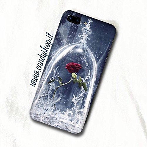 Cover Iphone 6/6S La bella e la Bestia- Case Iphone The beauty and the beast