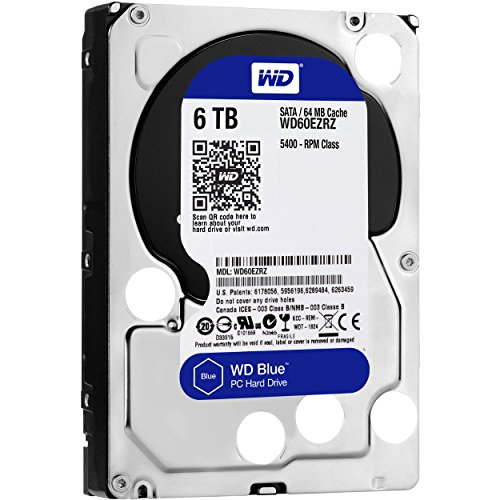 WD 6TB Blue Desktop Hard Disk Drive 5400RPM SATA 6Gb s 64MB Cache Model WD60EZRZ by Western Digital (Image #3)