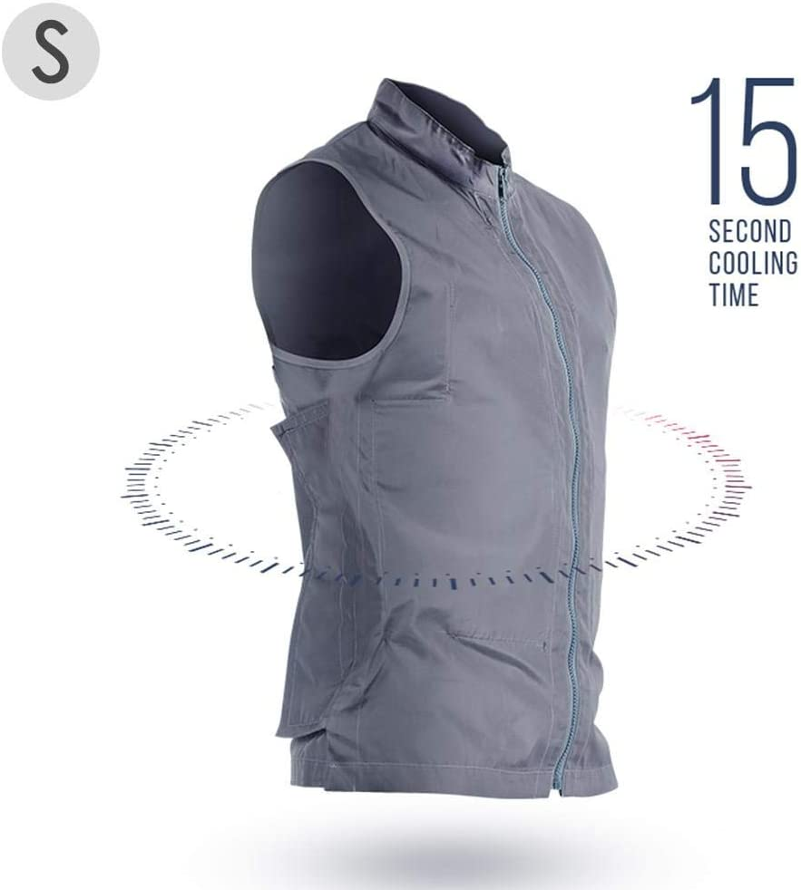 N/Z Cooling Sport Vest Summer Cooling Vest Personal Outerwear Cooling Vest Ice Water Circulation Cooling System for Summer Outdoor Sports Weeders Workers
