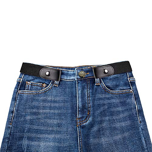 Ruimin 1PC Buckle-Free Elastic Invisible Belt Invisible Belts for Jeans for Mens Women by Ruimin (Image #6)