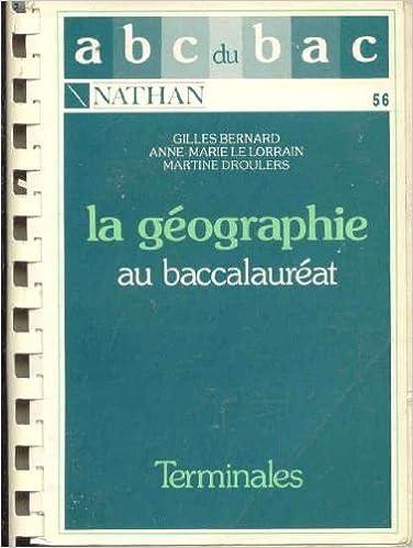Télécharger en ligne Geographie pdf, epub