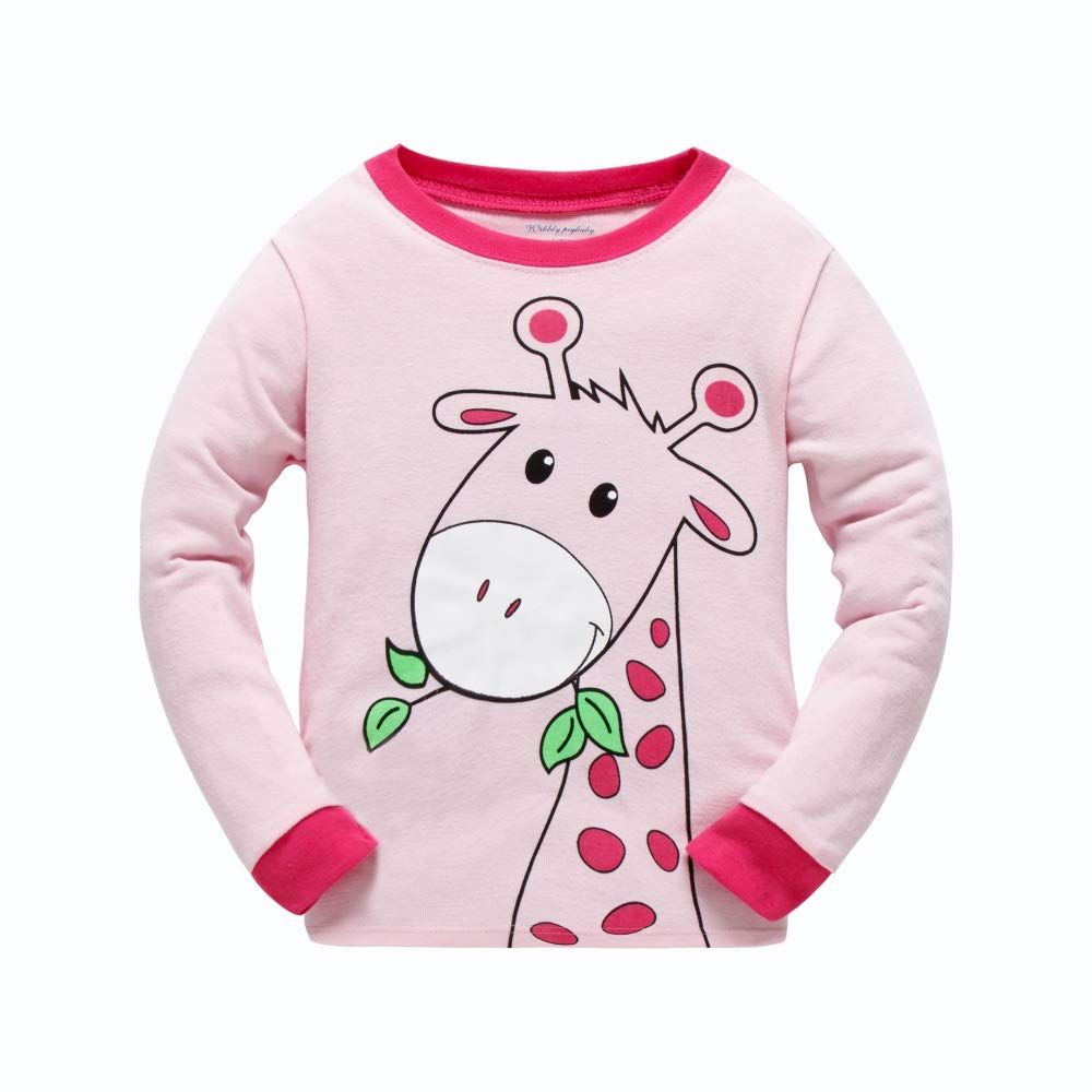 Girls Pyjamas Long Sleeve Children Christmas PJs Gifts 100% Cotton Sleepwear  for Toddler Age 1 to 7 Years  Amazon.co.uk  Clothing bbc19e2fb