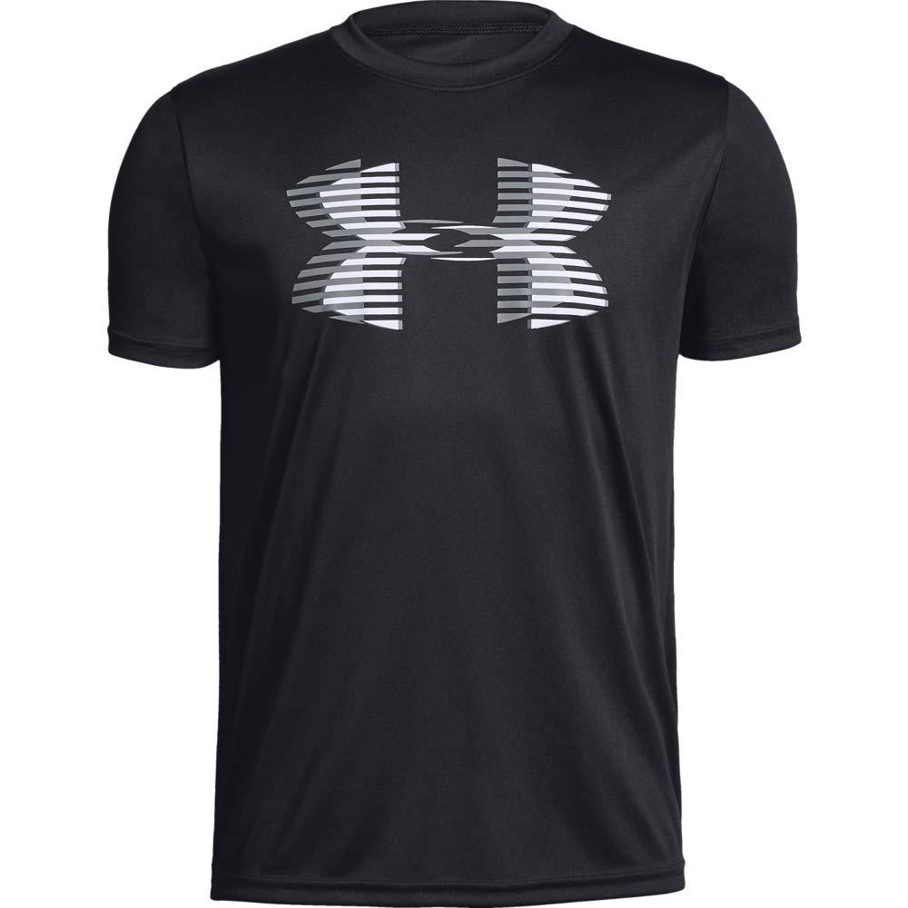 トレーニング/ Tシャツ ボーイズ テックビッグロゴソリッド 1331687 [アンダーアーマー]