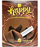Happy Schoko Glückskekse 1er Pack 1 x 10 Stück