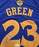 Draymond Green GSW Signed Blue Jersey JSA WP Certified Autographed NBA Jersey