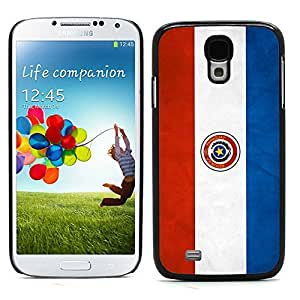 Graphic4You Vintage Paraguayan Flag of Paraguay Design Hard Case Cover for Samsung Galaxy S4 S IV