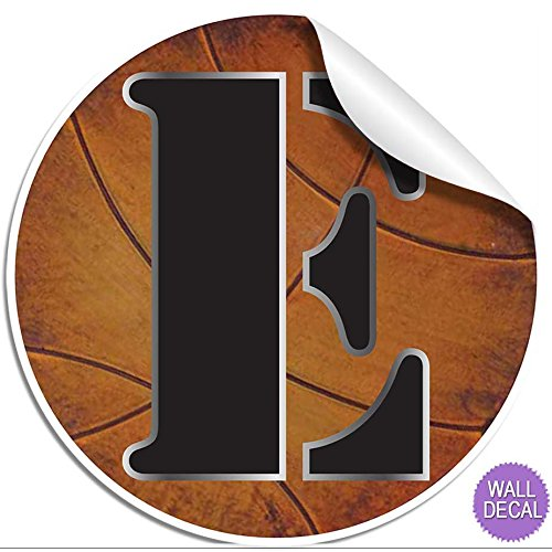 Wall letters quotequot basketball letter stickers alphabet for Medical chart letter stickers
