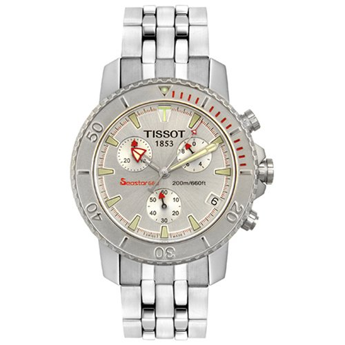 Amazon.com: Tissot Mens T19148531 Seastar 660 Chronograph Steel Watch: Watches