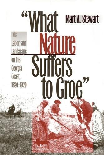 What Nature Suffers to Groe: Life, Labor, and Landscape on the Georgia Coast, 1680-1920 (Wormsloe Foundation Publication Ser.)