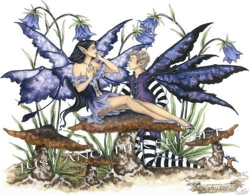 Bluebell Fairy Costumes - Breathless Amy Brown Open Edition 8.5