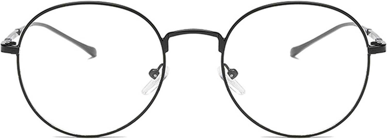 BodyGo Unisex Montatura Occhiali da Vista Occhio Frame Struttura Vetri Ottici Pianura rotonda vetro Plain completa-Rim Occhiali