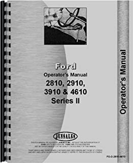 amazon com ford 4610 tractor service manual 0739718049130 ford rh amazon com 4610 Ford Tractor Hydraulic System ford 4610 tractor repair manual