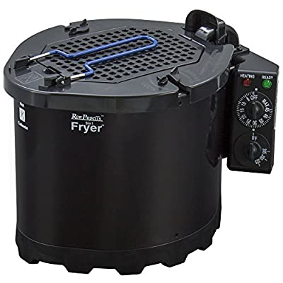 "Ron Popeil's 5-in-1 Cooking System and Turkey Fryer, Black, 12.75""X10""X12"" by Generic"