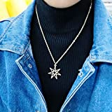 NOUMANDA Elven or Faerie Seven Pointed Star