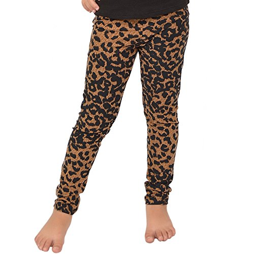irl's Leggings Brown Cheetah Large ()