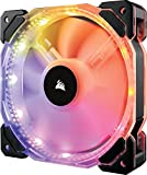 Corsair CO-9050068-WW CO‐9050068‐WW HD Series HD140 RGB LED 140mm High Performance RGB LED PWM Single Fan No Control HD Series