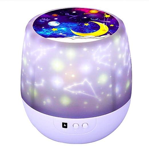 FAY Proyector de luz de Noche Estrellada, luz de Noche LED Que ...