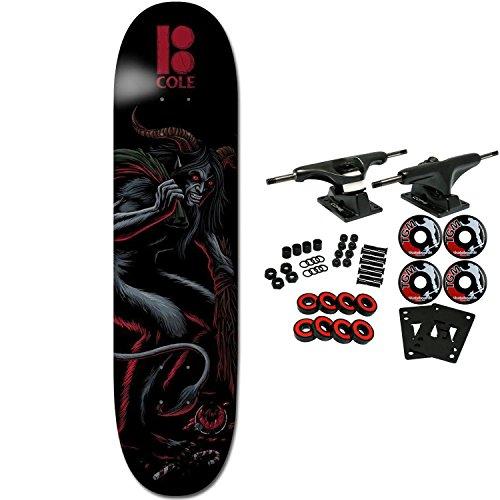 Plan B Skateboard Complete Cole Krampus 8.0