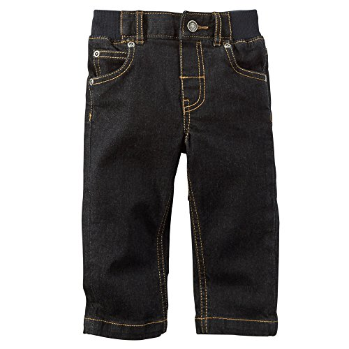 Carter's Baby Boys Classic Straight Fit Jeans - Black