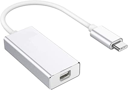 USB 3.1 Usb-C tipo C a HDMI 1080p HDTV Cable Adaptador Con Estuche De Aluminio Plata