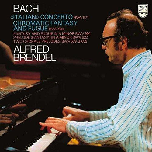 Vinilo : Alfred Brendel - Italian Concerto / Chromatic Fantasy & Fugue Etc (LP Vinyl)